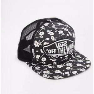 Vans off the wall floral hat